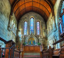 St.Matthews church :- Grosmont by WhartonWizard