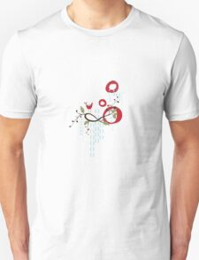 Drawing No.1 Red & Blue Unisex T-Shirt