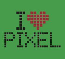 I love pixel One Piece - Short Sleeve