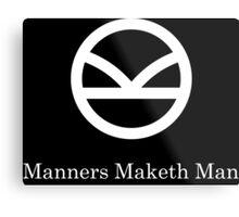 Kingsman Secret Service - Manners Maketh Man Metal Print