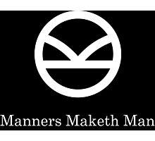 Kingsman Secret Service - Manners Maketh Man Photographic Print