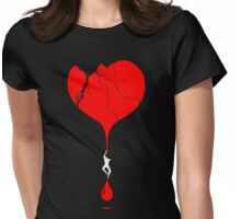 heart climber Womens Fitted T-Shirt