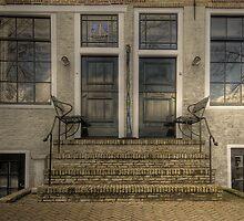 Façade in Blokzijl by Minne