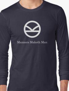 Kingsman Secret Service - Manners Maketh Man Long Sleeve T-Shirt
