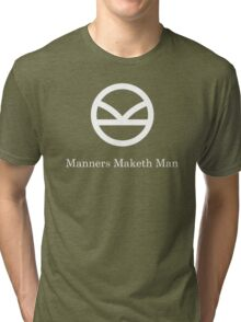 Kingsman Secret Service - Manners Maketh Man Tri-blend T-Shirt