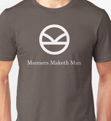 Kingsman Secret Service - Manners Maketh Man Unisex T-Shirt