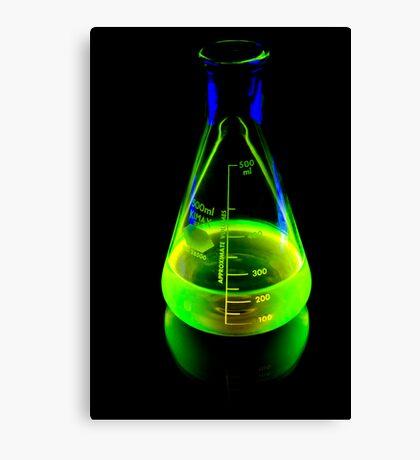 Beaker of  Sodium Fluorescein Canvas Print