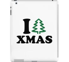 I love tree Xmas iPad Case/Skin