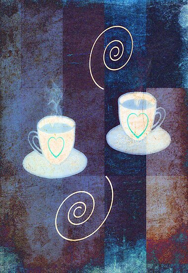 Coffee for two by ©Maria Medeiros