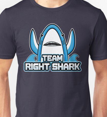 Team Right Shark Unisex T-Shirt