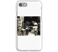 Past Sounds Present Struggle iPhone Case/Skin