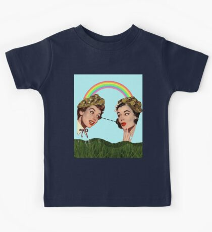 Under The Rainbow Kids Tee