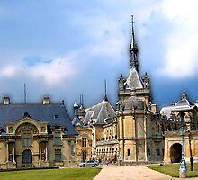 Château de Chantilly, Chantilly, France by vadim19