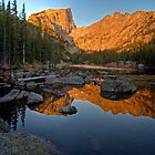 Dream Lake at Sunrise by EvergreenImp