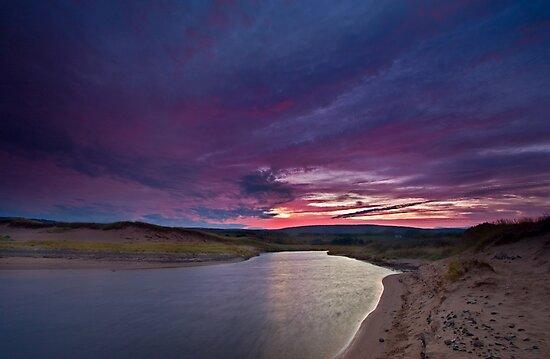 Inverness Beach River Sunrise by EvaMcDermott