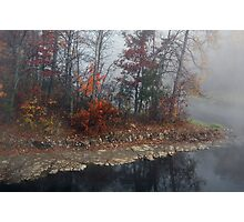 Foggy Weather Photographic Print