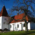 Aunede Kirke, Lolland. by hans p olsen