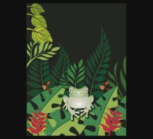 Green Tree Frog T-Shirt T-Shirt