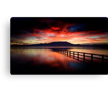 Red Saturday Canvas Print