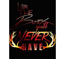 Never Have - Color Photographic Print