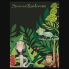 Save our Rainforests II T-Shirt by Lesley Smitheringale