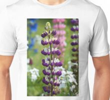 Lupin Flower Unisex T-Shirt