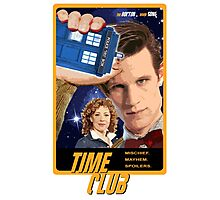 Time Club | Doctor Who | The Eleventh Doctor & River Song Photographic Print