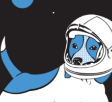 The Beagle Has Landed Sticker