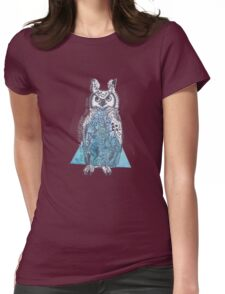 The Owls  Womens Fitted T-Shirt