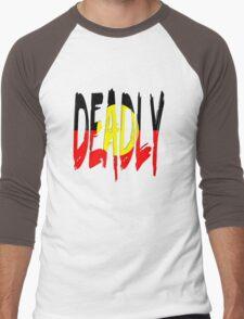 Deadly - Indigenous Australia Men's Baseball ¾ T-Shirt