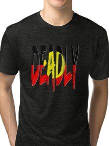 Deadly - Indigenous Australia Tri-blend T-Shirt
