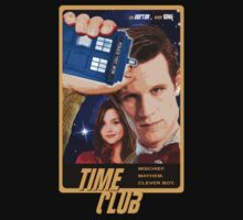 Time Club | Doctor Who | The Eleventh Doctor & Clara Oswald by rydrew