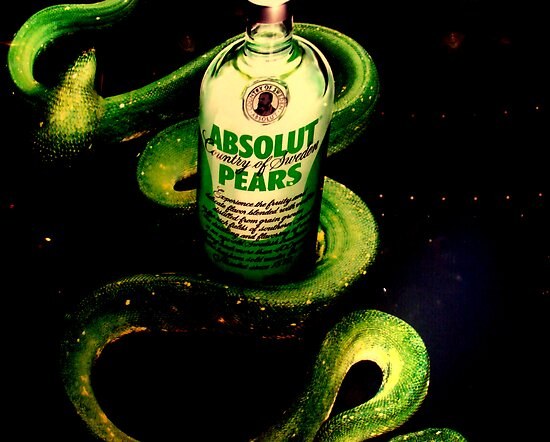 Absolut pears  by Isa Rodriguez