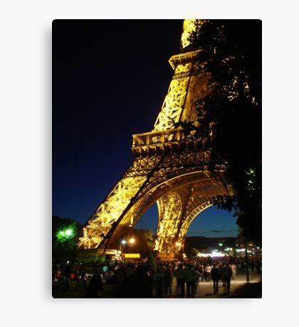 Eiffel Tower - France Canvas Print