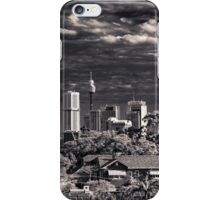 Sydney Grunge skyline iPhone Case/Skin