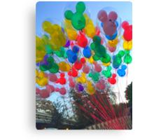 Disneyland Balloons Canvas Print