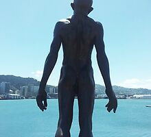 Wellington Waterfront Statue by jezkemp