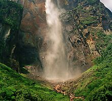 Angel Falls, Canaima National Park, Venezuela by Paris Lee