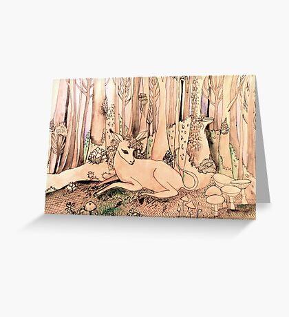 fantasy magical unicorn art Greeting Card
