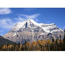 Mt. Robson Photographic Print