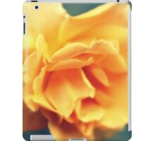 Vintage Peach Rose iPad Case/Skin