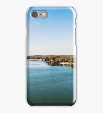 Blue Sky - Blue Water - Landscape Photography iPhone Case/Skin