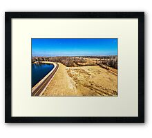 The Dead of Winter - Scenic Landscape Photography Framed Print