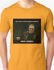 More Cowbell SNL Christopher Walken Shirt T-Shirt