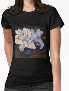 Garden Lily Womens Fitted T-Shirt