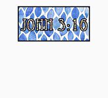 John 3:16 Bold Blue Unisex T-Shirt