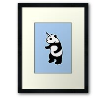 Pandicorn Framed Print