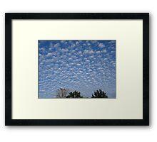 Surreal Sky Framed Print