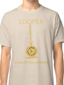 Looper Minimalist Movie Design Classic T-Shirt