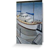 The Boat Greeting Card